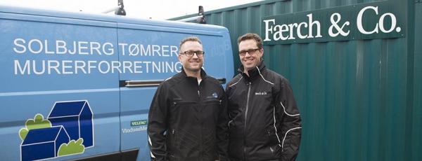 Færch & Co. køber Solbjerg Tømrer- & Murerforretning